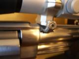 RARE SMITH WESSON M 629-1 8 3/8 NICKLE .44 MAG W/FACTORY SCOPE CUT & MOUNTS & ULTRA DOT SCOPE - 6 of 6