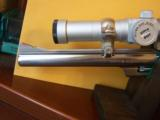 RARE SMITH WESSON M 629-1 8 3/8 NICKLE .44 MAG W/FACTORY SCOPE CUT & MOUNTS & ULTRA DOT SCOPE - 3 of 6