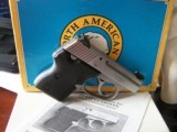 North American Arms NAA .32 acp nickel mint in box extras
