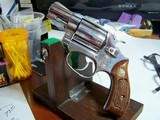 vintage smith wesson model 60 no dash 1 7/8 near mint stainless avw29xx
