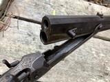 1885 Jacob Harder Lock Haven PA Over/Under Combination Rifle Shotgun RARE - 5 of 15