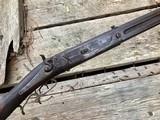 1885 Jacob Harder Lock Haven PA Over/Under Combination Rifle Shotgun RARE - 3 of 15