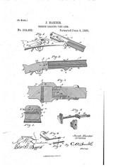 1885 Jacob Harder Lock Haven PA Over/Under Combination Rifle Shotgun RARE - 13 of 15