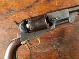 1848 Colt Pre-First Model Fluck Dragoon w/ Prototype Octagon Bbl & Holster RARE