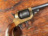 Whitney Two-Trigger Percussion Pocket Revolver SN 22 of 650 RARE .32 Cal Manual Cylinder