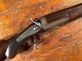Charles Smith & Sons Newark On Trent England 8 Gauge Shotgun Jones Underlever 8GA Breechloader RARE