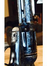 "John Adams Sr. Master Engraved Colt SAA .45 Colt with a 71/2 "" Barrel.- 14 of 26"
