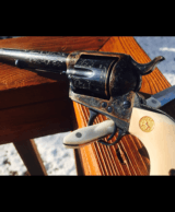 "John Adams Sr. Master Engraved Colt SAA .45 Colt with a 71/2 "" Barrel.- 13 of 26"