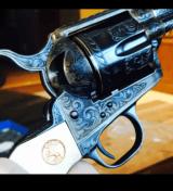 "John Adams Sr. Master Engraved Colt SAA .45 Colt with a 71/2 "" Barrel.- 24 of 26"