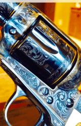 "John Adams Sr. Master Engraved Colt SAA .45 Colt with a 71/2 "" Barrel.- 26 of 26"