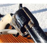 "John Adams Sr. Master Engraved Colt SAA .45 Colt with a 71/2 "" Barrel.- 5 of 26"