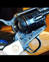 "John Adams Sr. Master Engraved Colt SAA .45 Colt with a 71/2 "" Barrel.- 8 of 26"