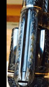 "John Adams Sr. Master Engraved Colt SAA .45 Colt with a 71/2 "" Barrel.- 22 of 26"