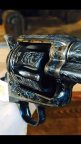 "John Adams Sr. Master Engraved Colt SAA .45 Colt with a 71/2 "" Barrel.- 9 of 26"