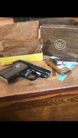 Colt Automatic .25LNIB. Box has no end label