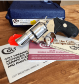 COLT .38 SF-VI WITH 2 INCH BARREL & SATIN STAINLESS FINISH.- 1 of 19