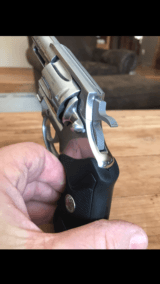 COLT .38 SF-VI WITH 2 INCH BARREL & SATIN STAINLESS FINISH.- 2 of 19