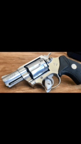 COLT .38 SF-VI WITH 2 INCH BARREL & SATIN STAINLESS FINISH.- 6 of 19