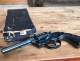 1929 COLT POILICE POSITIVE WITH BOX.