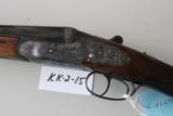 Arrieta Model 557 sidelock shotgun. 28 ga. - 1 of 5