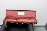 English Trunk Style Vintage Gun Case