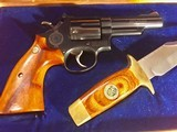 New Never Fired Model 19-3 Smith & Wesson 357 Magnum, Texas Ranger Commemorative Commission. - 5 of 15