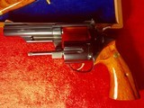 New Never Fired Model 19-3 Smith & Wesson 357 Magnum, Texas Ranger Commemorative Commission. - 9 of 15