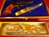 New Never Fired Model 19-3 Smith & Wesson 357 Magnum, Texas Ranger Commemorative Commission. - 4 of 15