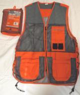 Champion Shooting Gear Trap Vest, Blaze Orange and Grey