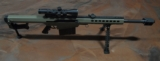 BARRETT M82A1 18074 FDE .50 BMG With Night Force SHV 3-10X42 Scope NIB