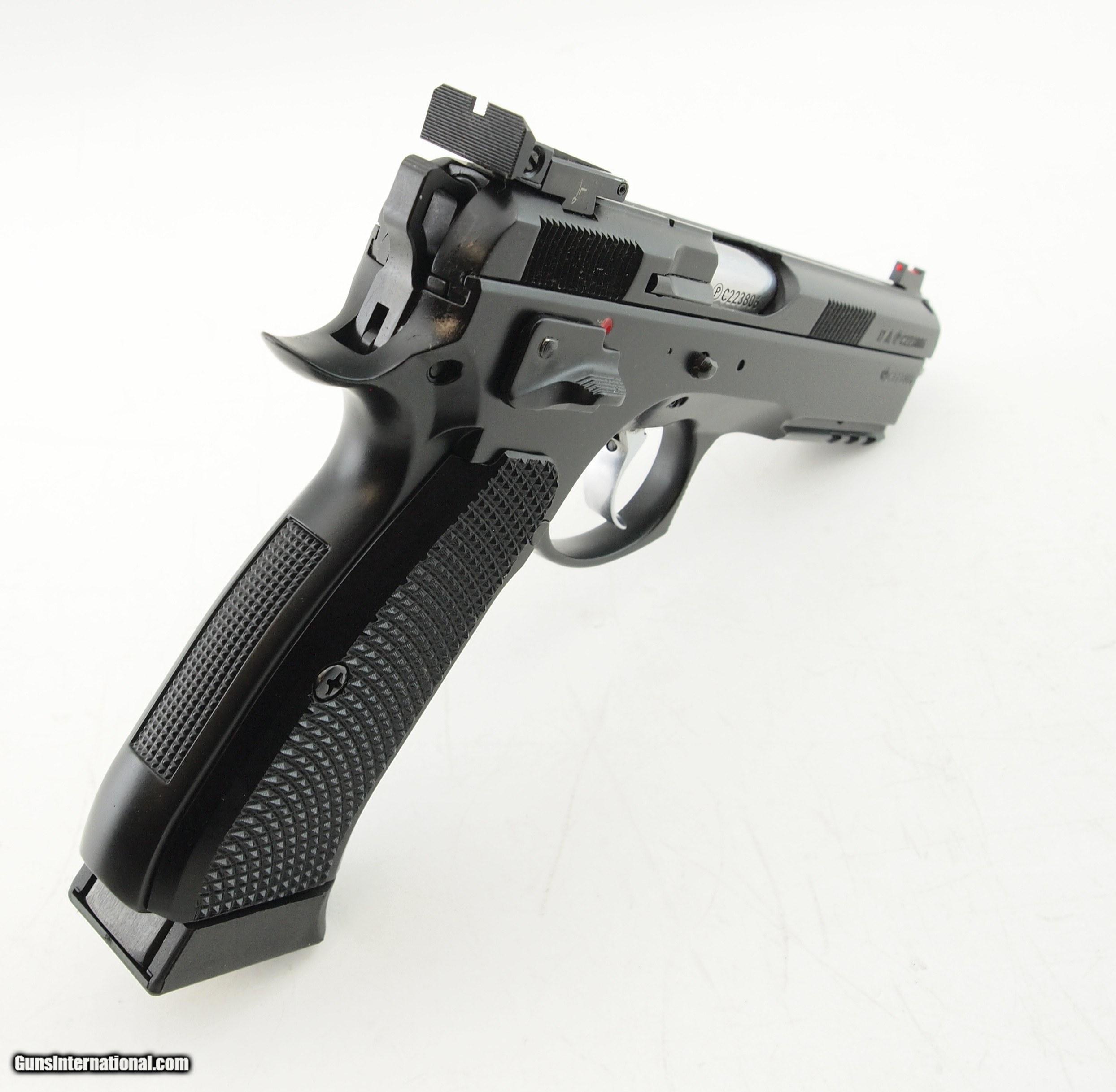CZ 75 SP-01 SHADOW TARGET II 9mm