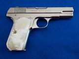 Colt 1908 Hammerless Nickel MFG 1926 .380 ACP