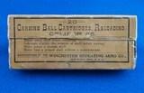 Winchester Vintage Ammunition .45 Carbine WBox
