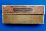 The Peters Cartridge Co. Vintage Ammunition .45-70-405 WBox - 1 of 6