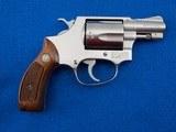 S&W 60 (No Dash) Stainless .38 SPL