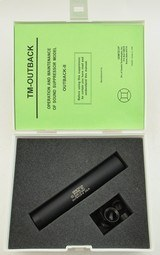 GemTech Outback II Suppressor .22 LR NFA Wbox