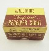 Williams Foolproof Receiver Sight FP A3 NIB - 5 of 6