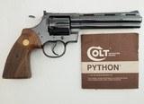 Colt Python MFG 1979 .357 Mag - 3 of 6