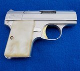 Browning Baby LW Made In Belgium .25 ACP WCase - 1 of 4