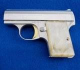 Browning Baby LW Made In Belgium .25 ACP WCase - 2 of 4