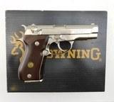 Browning Italy BDA Nickel .380 ACP WBox - 3 of 5
