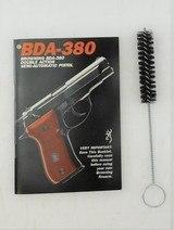Browning Italy BDA Nickel .380 ACP WBox - 5 of 5