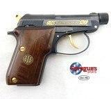Beretta 21 Gold Accents .22 LR WBox