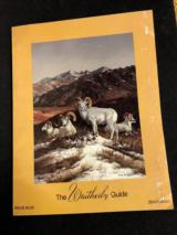 Weatherby Guide. 22nd Edition. 1985