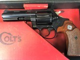 "colt diamondback 22, 4"" blue, unfired in original box"