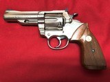 "colt trooper mk3, 357 mag, 4"" barrel, nickel"