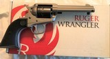 ruger wrangler, 22 lr single action revolver