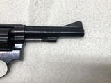 "Smith & Wesson Model 34-1, 22LR Kit Gun. 4"" barrel, Blue - 7 of 9"