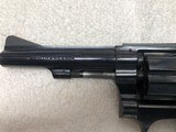 "Smith & Wesson Model 34-1, 22LR Kit Gun. 4"" barrel, Blue - 3 of 9"