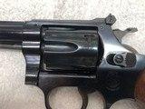 "Smith & Wesson Model 34-1, 22LR Kit Gun. 4"" barrel, Blue - 2 of 9"